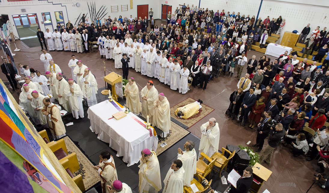 NEW BISHOP ORDAINED