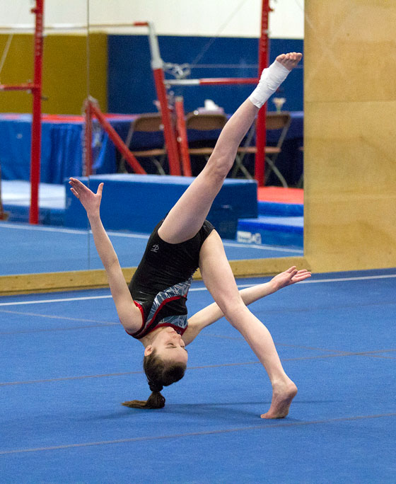 whitehorse daily star young gymnast overcame injury to excell