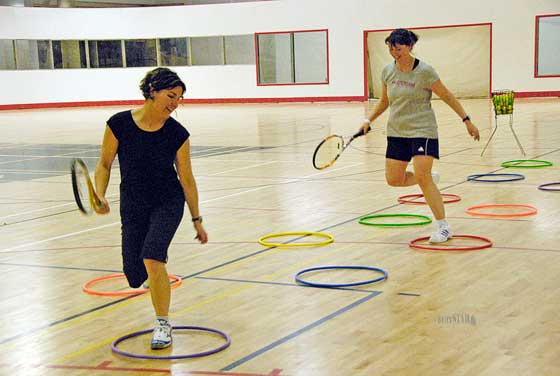 Tennis Player Fitness Training