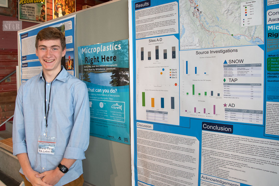 STUDENT PRESENTS AT CONFERENCE