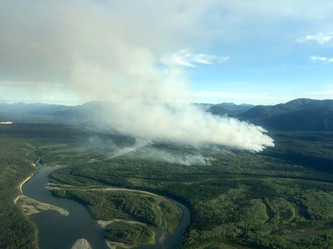 Whitehorse Daily Star: Cigarette butts sparked fire in