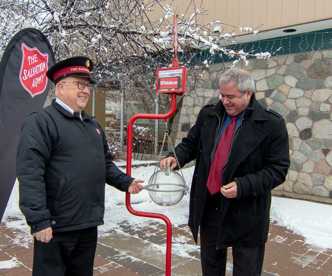Whitehorse Daily Star: Sally Ann's kettle campaign goes hi-tech
