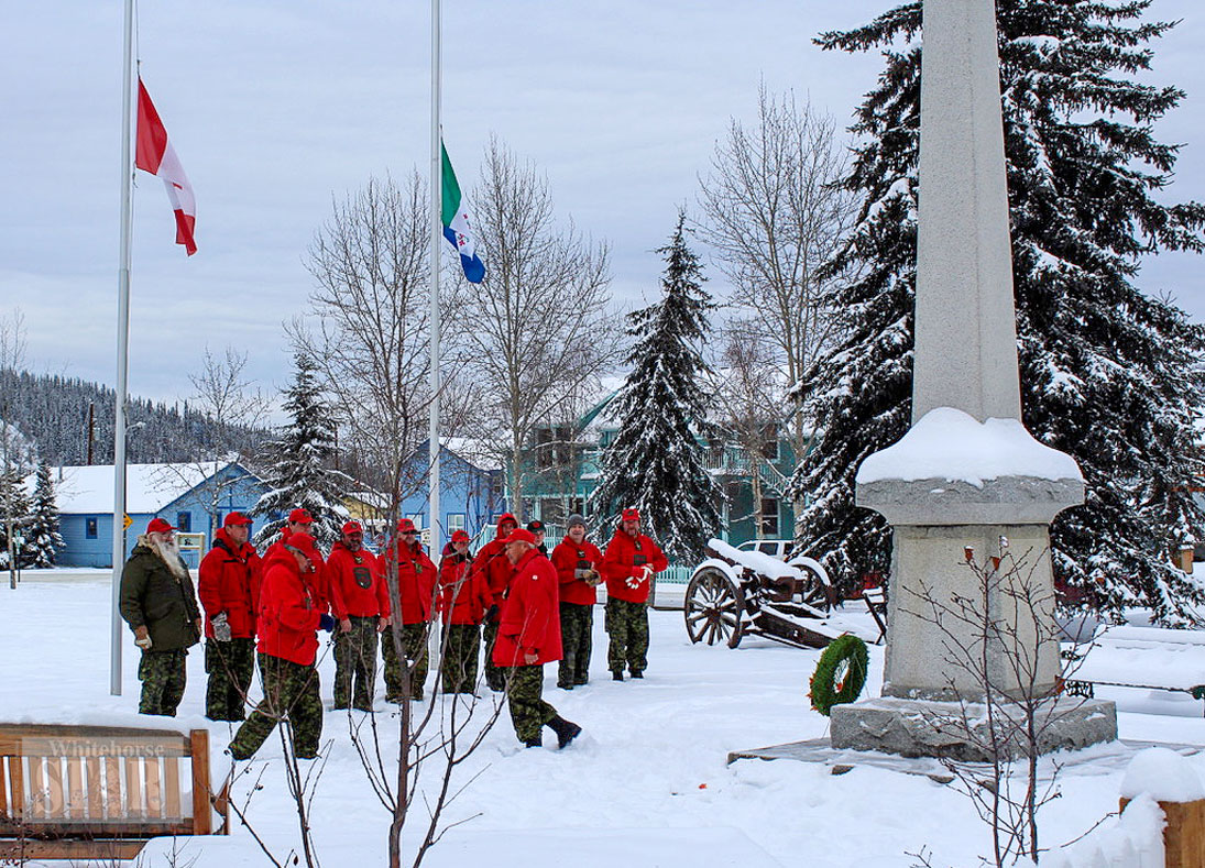 Dawson honoured those who have served - Whitehorse Star