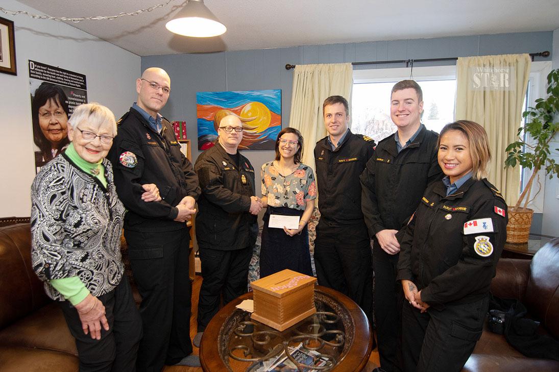 Ship's Crew Assists Women's Centre