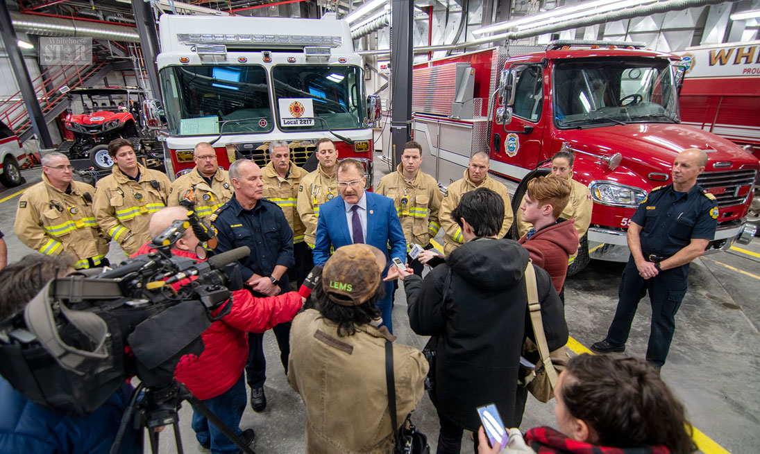 Whitehorse Daily Star: Firefighters seek coverage for more cancers