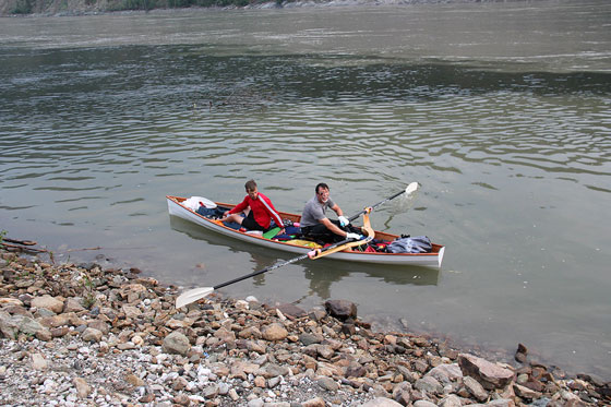 Whitehorse Daily Star: Paddling duo completes personal quest